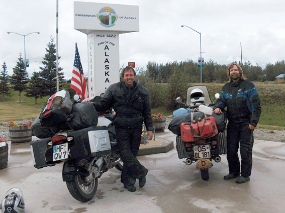 End of Alaska Highway
